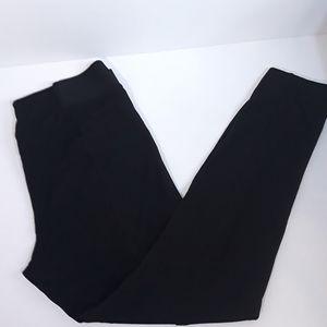 H&M Basics    Black Leggings With Vertical Seams